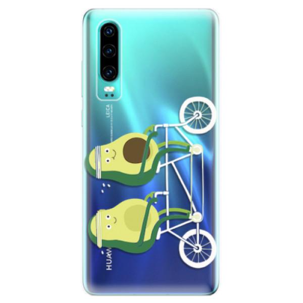 Odolné silikonové pouzdro iSaprio - Avocado - Huawei P30