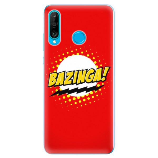 Odolné silikonové pouzdro iSaprio - Bazinga 01 - Huawei P30 Lite