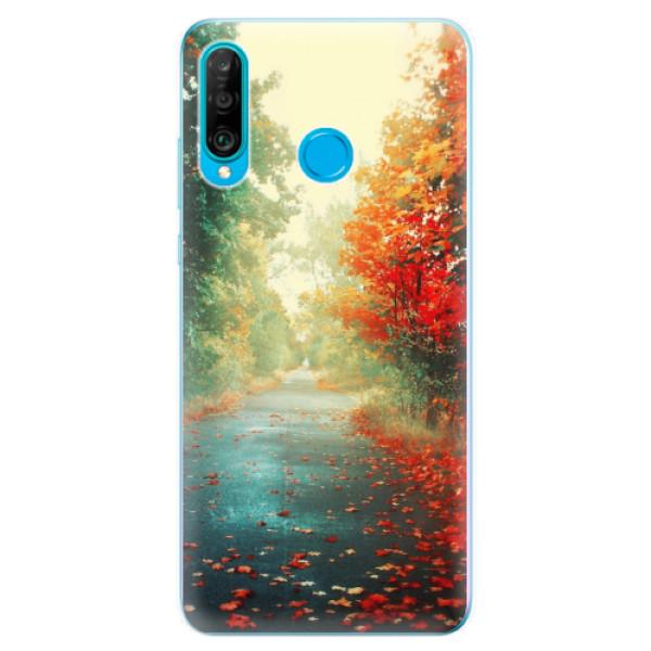 Odolné silikonové pouzdro iSaprio - Autumn 03 - Huawei P30 Lite