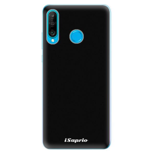 Odolné silikonové pouzdro iSaprio - 4Pure - černý - Huawei P30 Lite