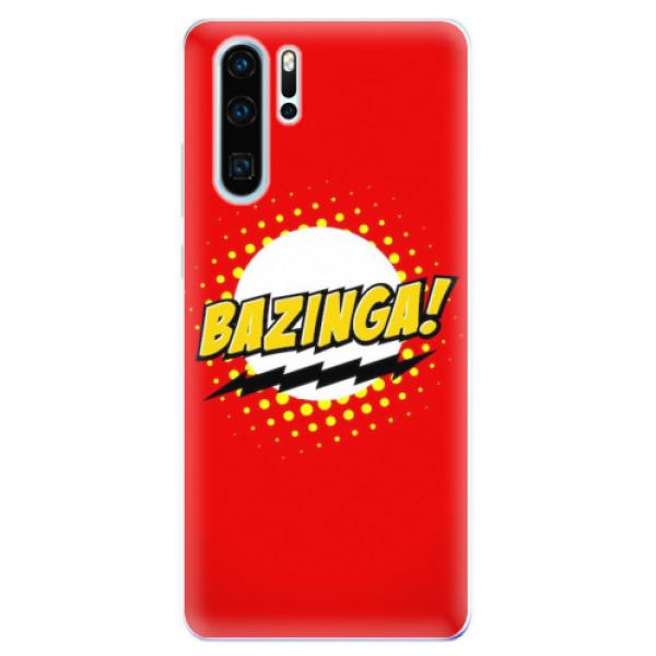 Odolné silikonové pouzdro iSaprio - Bazinga 01 - Huawei P30 Pro
