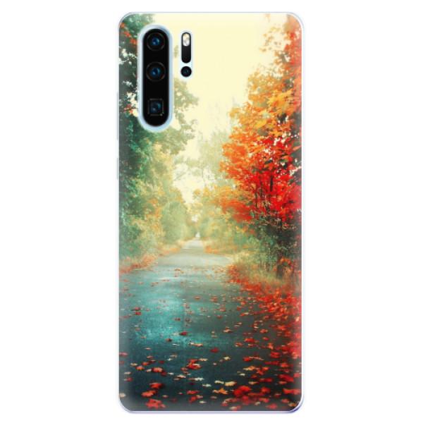 Odolné silikonové pouzdro iSaprio - Autumn 03 - Huawei P30 Pro