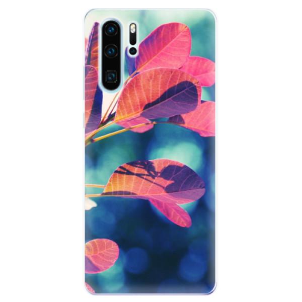 Odolné silikonové pouzdro iSaprio - Autumn 01 - Huawei P30 Pro