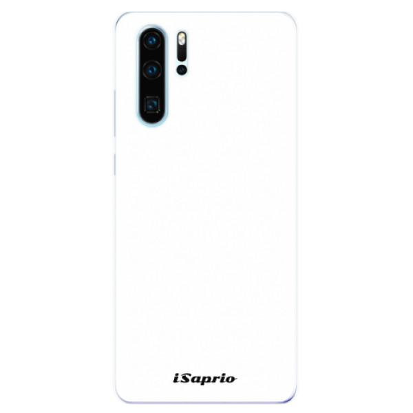 Odolné silikonové pouzdro iSaprio - 4Pure - bílý - Huawei P30 Pro