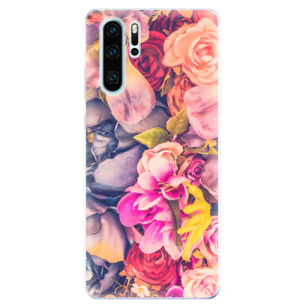 Odolné silikonové pouzdro iSaprio - Beauty Flowers - Huawei P30 Pro