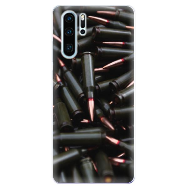 Odolné silikonové pouzdro iSaprio - Black Bullet - Huawei P30 Pro