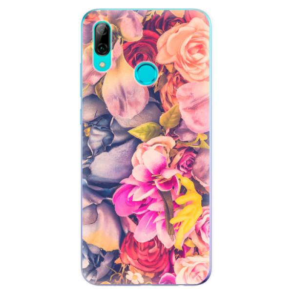 Odolné silikonové pouzdro iSaprio - Beauty Flowers - Huawei P Smart 2019