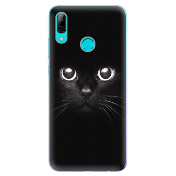 Odolné silikonové pouzdro iSaprio - Black Cat - Huawei P Smart 2019