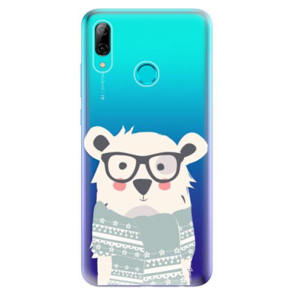 Odolné silikonové pouzdro iSaprio - Bear with Scarf - Huawei P Smart 2019