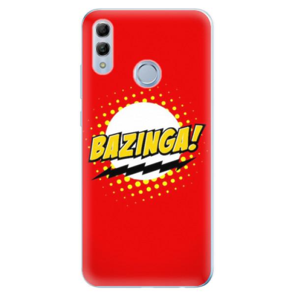 Odolné silikonové pouzdro iSaprio - Bazinga 01 - Huawei Honor 10 Lite