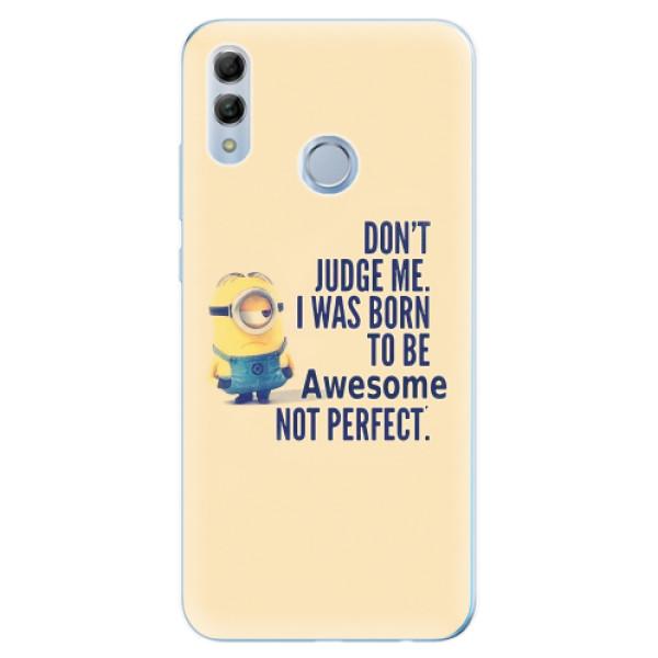 Odolné silikonové pouzdro iSaprio - Be Awesome - Huawei Honor 10 Lite