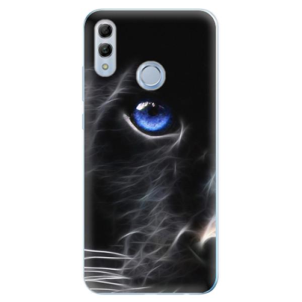 Odolné silikonové pouzdro iSaprio - Black Puma - Huawei Honor 10 Lite