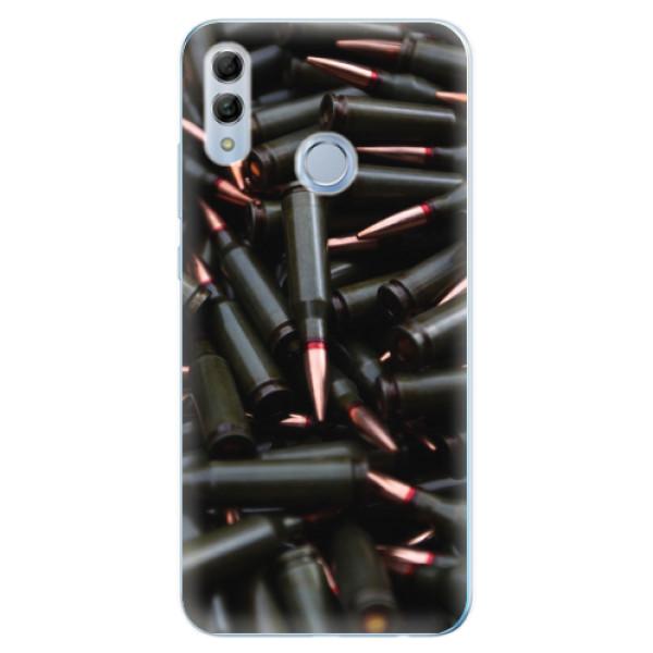 Odolné silikonové pouzdro iSaprio - Black Bullet - Huawei Honor 10 Lite