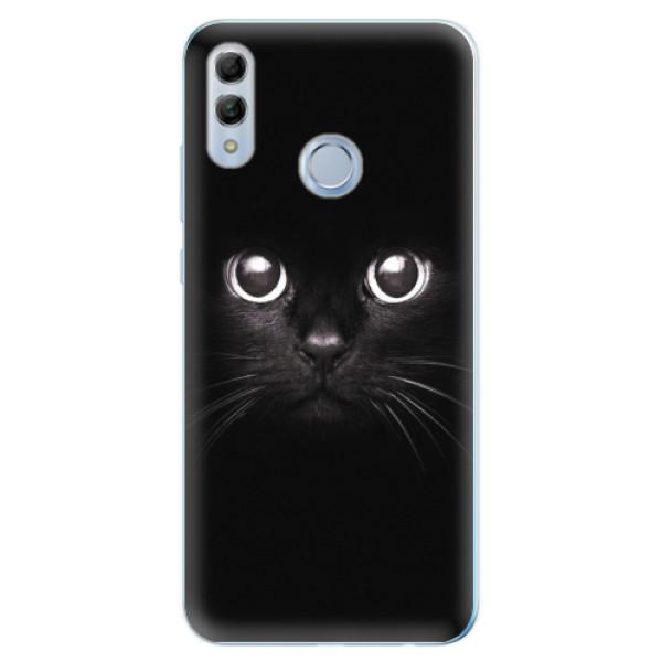Odolné silikonové pouzdro iSaprio - Black Cat - Huawei Honor 10 Lite