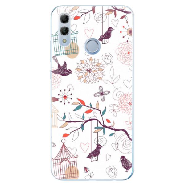 Odolné silikonové pouzdro iSaprio - Birds - Huawei Honor 10 Lite
