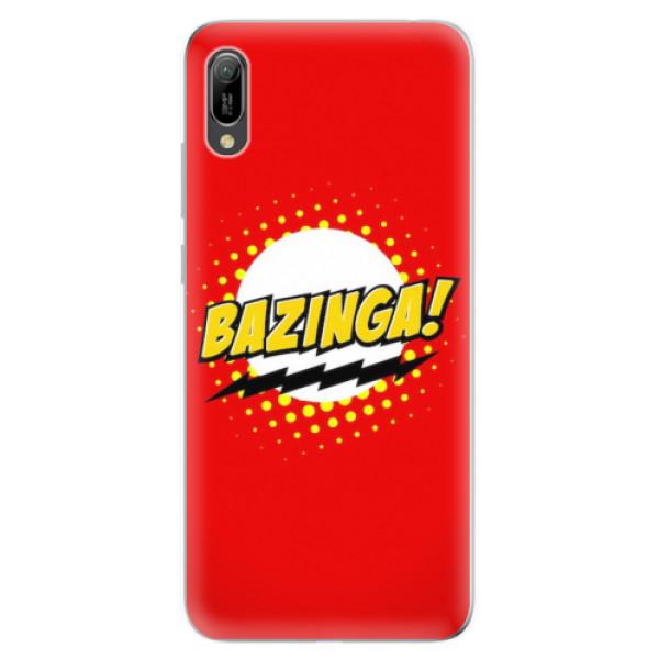 Odolné silikonové pouzdro iSaprio - Bazinga 01 - Huawei Y6 2019