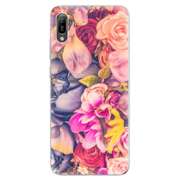 Odolné silikonové pouzdro iSaprio - Beauty Flowers - Huawei Y6 2019