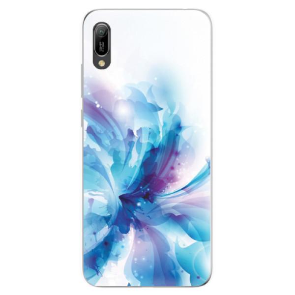 Odolné silikonové pouzdro iSaprio - Abstract Flower - Huawei Y6 2019
