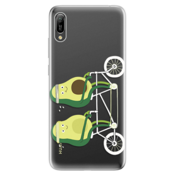 Odolné silikonové pouzdro iSaprio - Avocado - Huawei Y6 2019