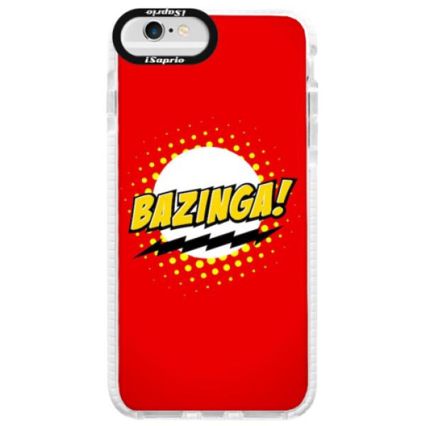 Silikonové pouzdro Bumper iSaprio - Bazinga 01 - iPhone 6/6S