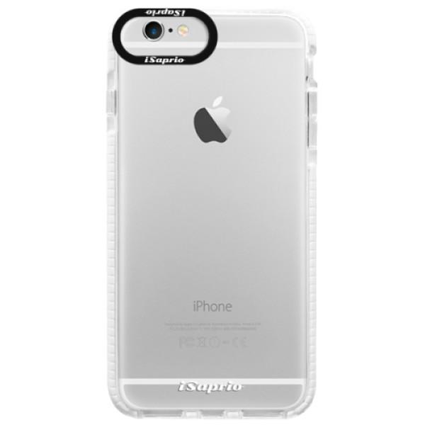 Silikonové pouzdro Bumper iSaprio - 4Pure - mléčný bez potisku - iPhone 6/6S