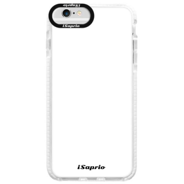 Silikonové pouzdro Bumper iSaprio - 4Pure - bílý - iPhone 6/6S