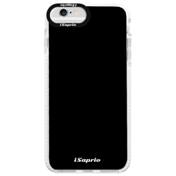 Silikonové pouzdro Bumper iSaprio - 4Pure - černý - iPhone 6/6S