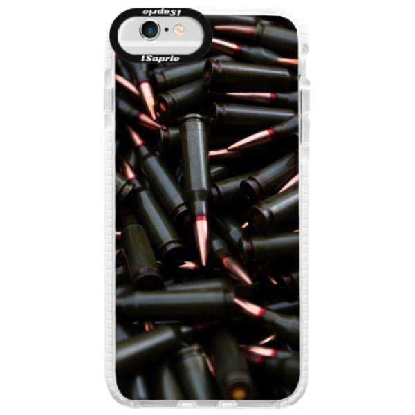 Silikonové pouzdro Bumper iSaprio - Black Bullet - iPhone 6/6S