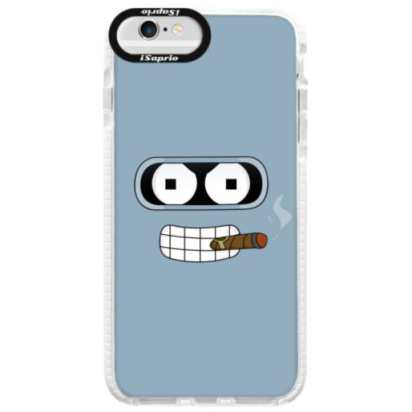Silikonové pouzdro Bumper iSaprio - Bender - iPhone 6/6S