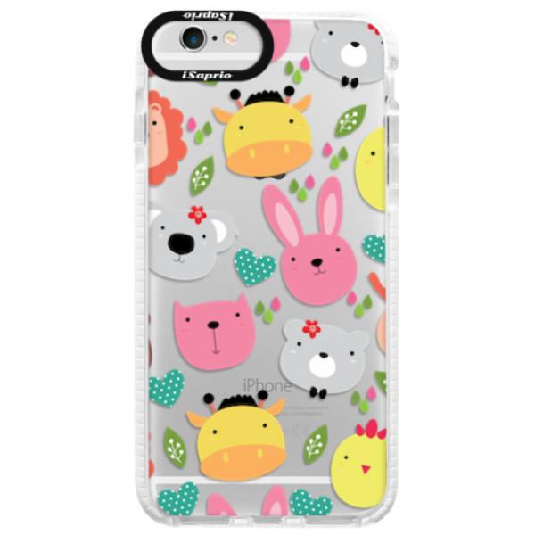 Silikonové pouzdro Bumper iSaprio - Animals 01 - iPhone 6/6S