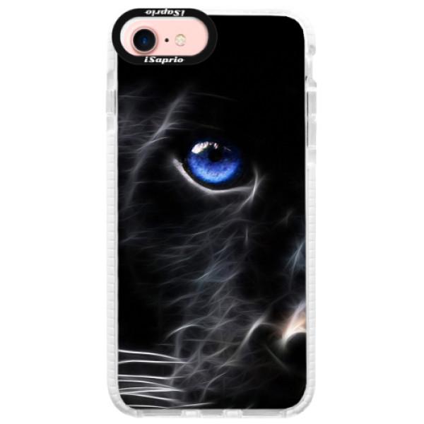 Silikonové pouzdro Bumper iSaprio - Black Puma - iPhone 7