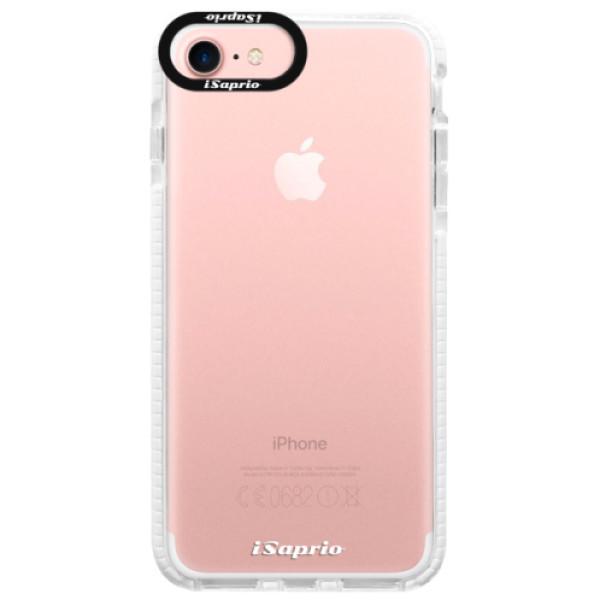 Silikonové pouzdro Bumper iSaprio - 4Pure - mléčný bez potisku - iPhone 7