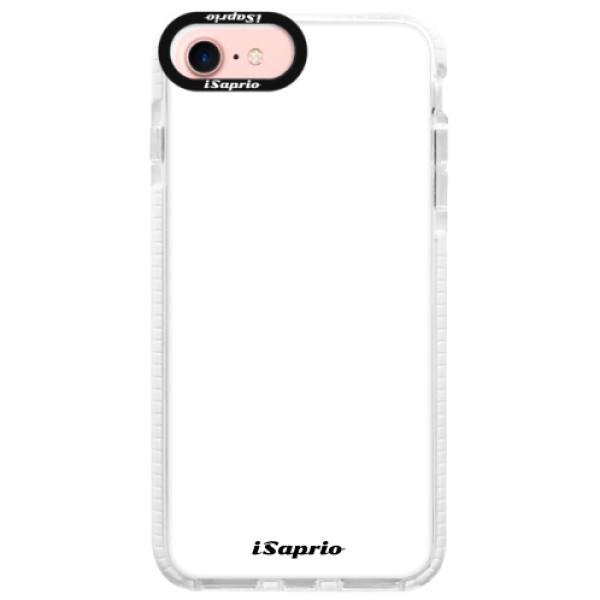 Silikonové pouzdro Bumper iSaprio - 4Pure - bílý - iPhone 7