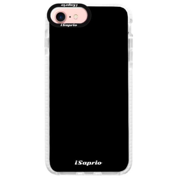 Silikonové pouzdro Bumper iSaprio - 4Pure - černý - iPhone 7