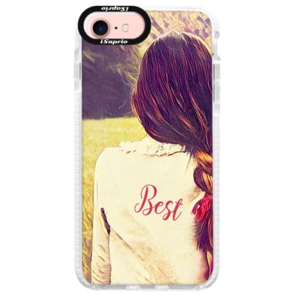 Silikonové pouzdro Bumper iSaprio - BF Best - iPhone 7
