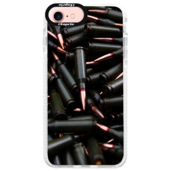 Silikonové pouzdro Bumper iSaprio - Black Bullet - iPhone 7