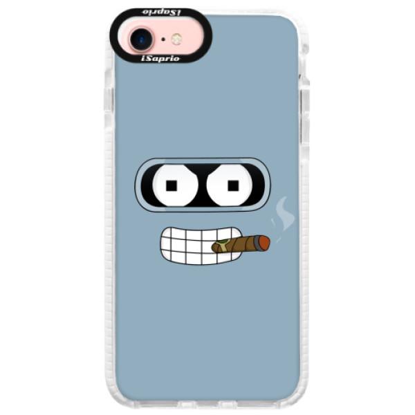 Silikonové pouzdro Bumper iSaprio - Bender - iPhone 7