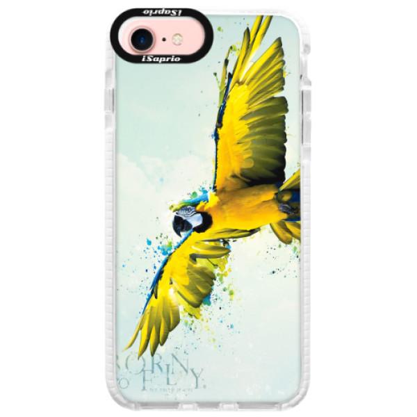 Silikonové pouzdro Bumper iSaprio - Born to Fly - iPhone 7