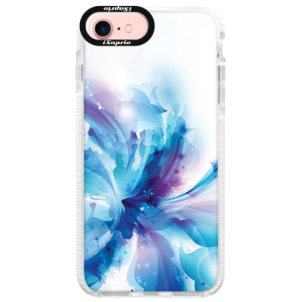Silikonové pouzdro Bumper iSaprio - Abstract Flower - iPhone 7