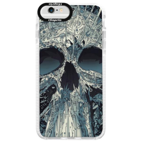 Silikonové pouzdro Bumper iSaprio - Abstract Skull - iPhone 6 Plus/6S Plus