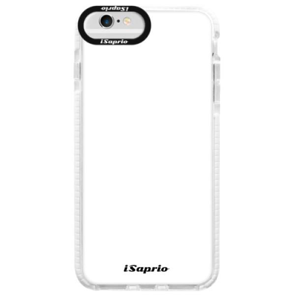 Silikonové pouzdro Bumper iSaprio - 4Pure - bílý - iPhone 6 Plus/6S Plus