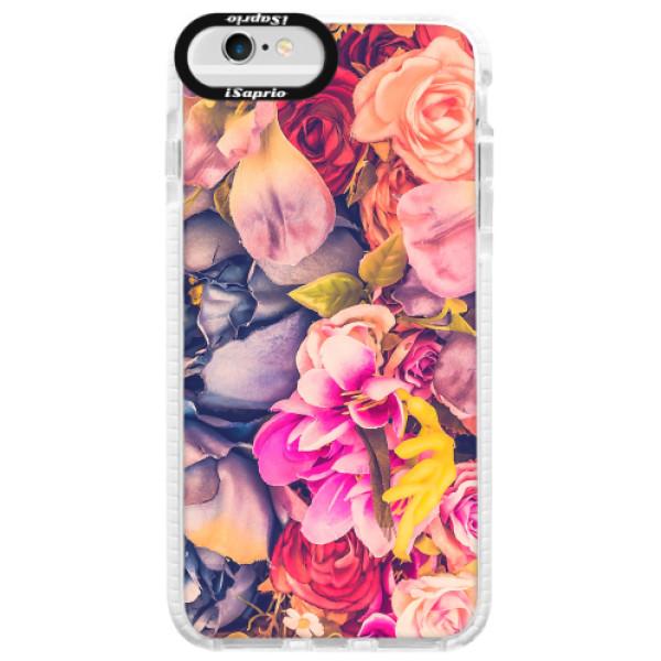 Silikonové pouzdro Bumper iSaprio - Beauty Flowers - iPhone 6 Plus/6S Plus