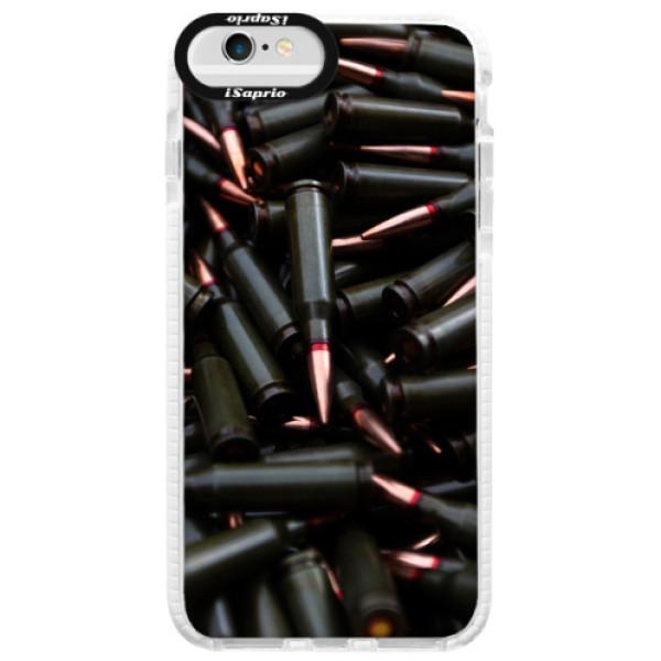 Silikonové pouzdro Bumper iSaprio - Black Bullet - iPhone 6 Plus/6S Plus