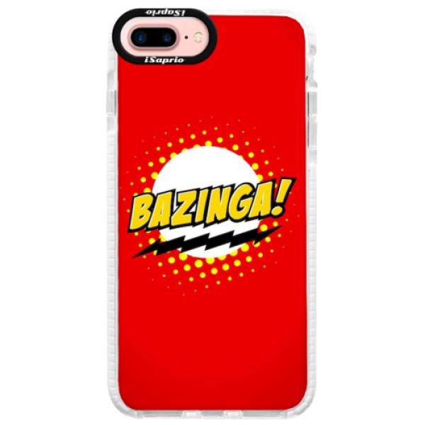 Silikonové pouzdro Bumper iSaprio - Bazinga 01 - iPhone 7 Plus