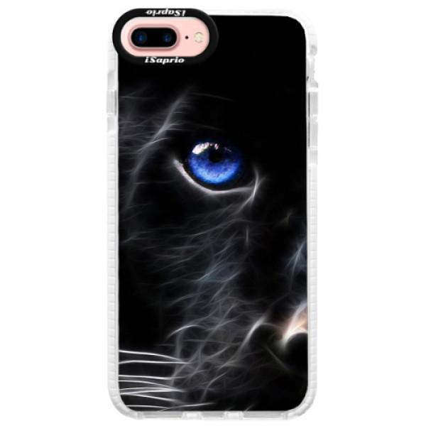 Silikonové pouzdro Bumper iSaprio - Black Puma - iPhone 7 Plus