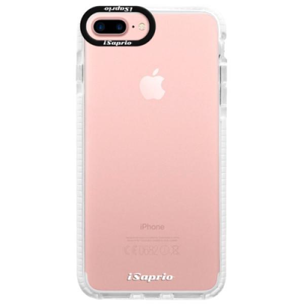 Silikonové pouzdro Bumper iSaprio - 4Pure - mléčný bez potisku - iPhone 7 Plus