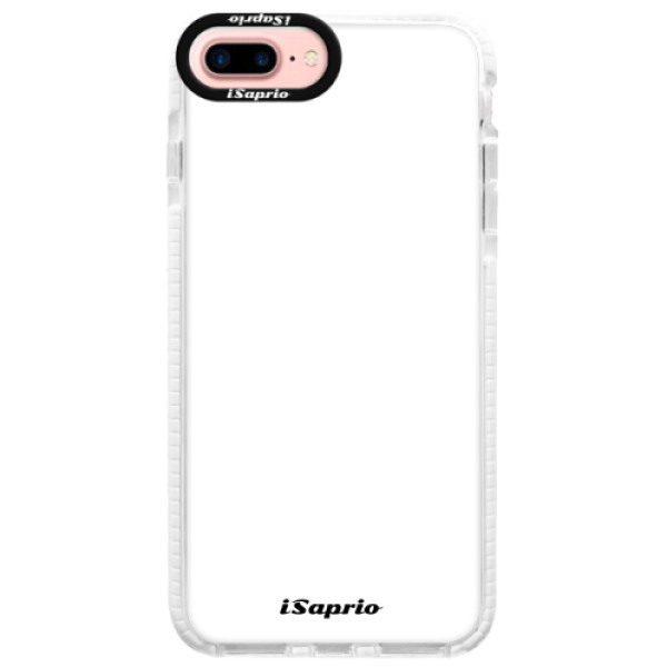 Silikonové pouzdro Bumper iSaprio - 4Pure - bílý - iPhone 7 Plus