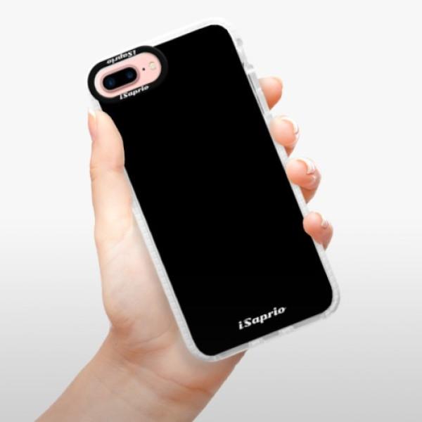 Silikonové pouzdro Bumper iSaprio - 4Pure - černý - iPhone 7 Plus