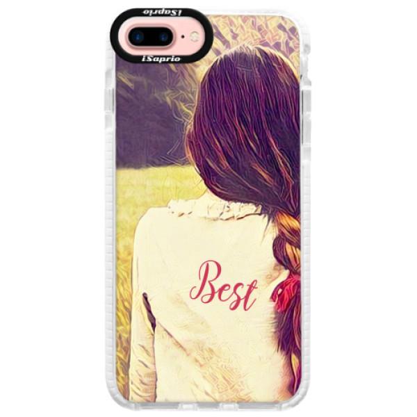 Silikonové pouzdro Bumper iSaprio - BF Best - iPhone 7 Plus