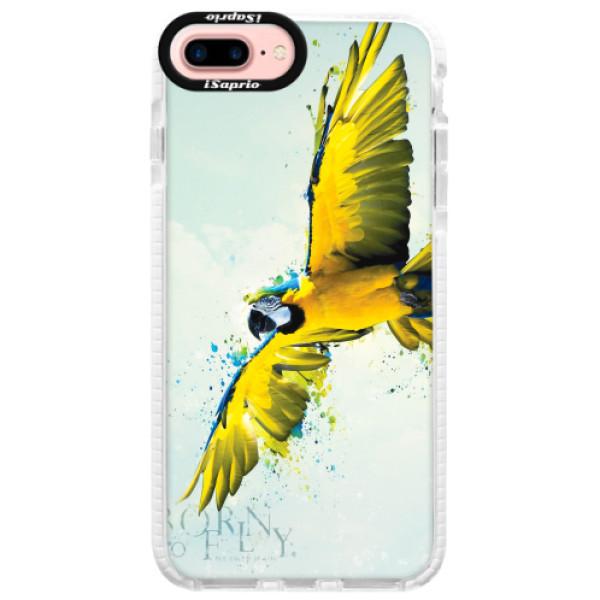 Silikonové pouzdro Bumper iSaprio - Born to Fly - iPhone 7 Plus